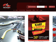 screenshot https://www.defikart.fr/ karting à toulouse