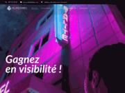 screenshot http://www.delagefabien.fr graphiste communication imprimée marseille