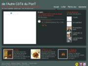 screenshot http://www.delautrecotedupont.fr bar de l'autre côté du pont à lyon guillotière