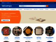 screenshot http://www.delcampe.fr/ achat et vente d'objets de collection : delcampe