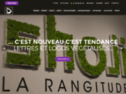 screenshot http://www.deleage.com impressions et matériel d'exposition, signalétique