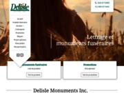 Monument Funéraire: Delisle Monuments