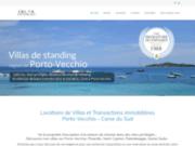 screenshot http://www.delta-immo.com agence immobilière villefranche sur saône 69