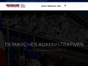 screenshot http://demarches-administratives.org Démarches Administratives