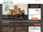 Barbato le Bec : déménageur dans le Finistère