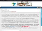 screenshot http://demenageurmontpellier.net déménageur Montpellier