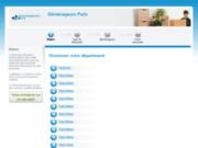 screenshot http://www.demenageursparis.fr trouvez un déménageur à paris !