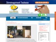 Entreprise de déménagement à Toulouse Illibox