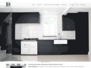 screenshot http://www.demeure-boreale.com/ cuisines en bois moderne  design haut de gamme: demeure boréale 75