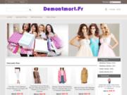 screenshot http://www.demontmort.fr isabelle lacroix decoratrice tapissier bordeaux