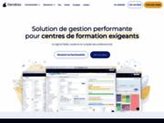 screenshot http://www.dendreo.com Logiciel de gestion pour centre de formation