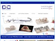 Site officiel de Dental Concept