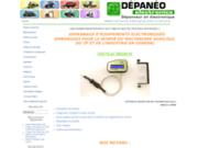 screenshot http://www.depannageelectronique.com depannage electronique agricole