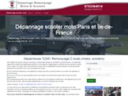 Dépannage scooter moto Paris et Ile-de-France
