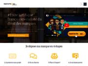 screenshot http://www.depot-de-marque.com/ Dépôt de marque