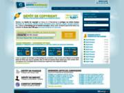 screenshot http://www.depotnumerique.com dépôt numérique