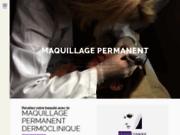 screenshot http://www.dermoclinique.com/ maquillage permanent dermoclinique aix en provence