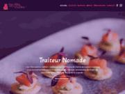 screenshot http://desfillesdanslacuizine.fr Traiteur et chef à domicile