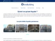 screenshot http://www.design-facades.fr design façades
