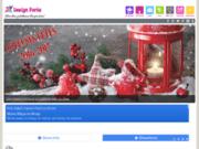 screenshot http://www.designferia.com Votre dose quotidienne d'inspiration