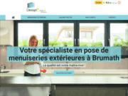 Pose de menuiseries extérieures à Brumath dans le Bas-Rhin