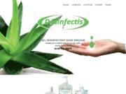 screenshot http://www.desinfectis.com gel hydroalcoolique desinfectis