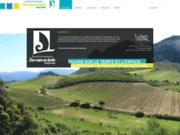 screenshot http://www.desruesenherbe.com agence d'architecte paysagiste à Lons le Saunier