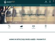screenshot http://www.detective-macon-71.fr/ détective privé à Mâcon - Investipole
