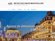 screenshot http://www.detective-prive-montpellier.fr/ Détectives privés