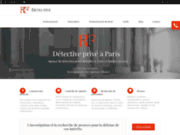 Détective privé installé à Paris RIF