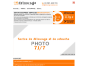 screenshot http://www.detourage-express.com service de détourage photo