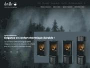 Deville : poêle et cheminée pour chauffage bois, mazout