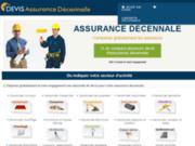 screenshot http://www.devis-assurance-decennale.fr décennale auto entrepreneur