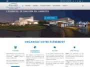 screenshot http://www.diagora-congres.com/ Diagora : le lieu de vos congrès à Toulouse