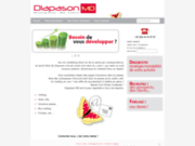 screenshot http://www.diapason-md.com conseil en vpc et location de fichier marketing diapason md