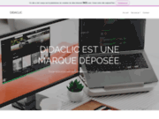 screenshot http://www.didaclic.fr/ didaclic, formation et services informatiques