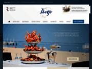 screenshot http://www.diegoplage.com Restaurant Arcachon