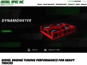 screenshot http://www.dieselspec.ca diesel