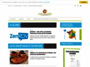 screenshot http://www.dieteticien-nutritionniste-sante.com diététicien nutritionniste santé