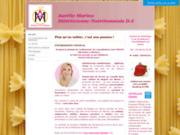 screenshot http://www.dieteticienne-nogent.com site de la diététicienne-nutritionniste de nogent