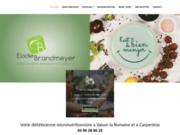 screenshot http://www.dietetique-carpentras-84.com maigrir à carpentras