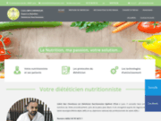 screenshot http://www.dietetique-lyon.com/ suivi nutritionnel lyon