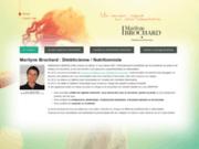 screenshot http://www.dietetique-nutrition-lyon.com marilyne brochard est nutritionniste diététicienne sur lyon