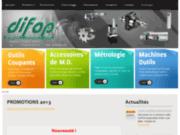 screenshot http://www.difop.com/ Agencement d'atelier chez difop