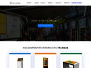screenshot http://www.digital-instore.fr/ Fournisseur numéro 1 des dispositifs tactiles pour les points de vente