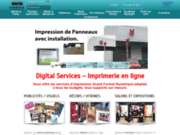 Digitalservices, impression numérique