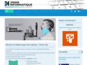screenshot http://www.dinaninfo.fr dinan informatique