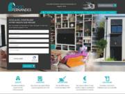 screenshot http://www.diogo.fr/ Diogo Fernandes constructeur de maisons
