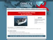 screenshot http://www.direct-international.com/ Direct International est une société française de sourcing international.