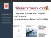 screenshot http://www.direct-traduction.fr direct traduction : anglais, polonais  français